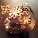 Handmade Tin Metal Santos Crown from Mexico