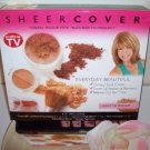 SHEER COVER Mineral Makeup *7pc set kit  LIGHT / MEDIUM