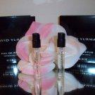 2 DAVID YURMAN Parfum Perfume EDP Spray Sample Vial