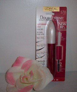 Loreal DOUBLE EXTEND Beauty Tubes Mascara 80% Longer