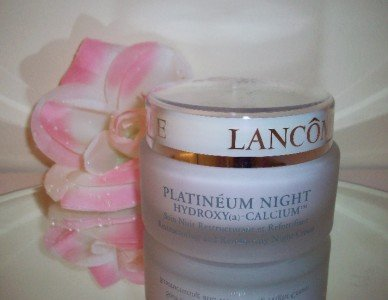 Lancome Platineum Night Hydroxy (a) Calcium Cream 2.6oz