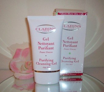 Clarins Purifying Cleansing Gel Oily Skin 4.4oz