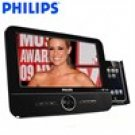 PHILIPS® DCP851 (R) WIDESCREEN PORTABLE DVD PLAYER WITH iPOD DOCK & PHOTO FRAME (Refurbished)