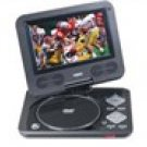 "Naxa NPD-702 7"" TFT LCD Swivel Screen Portable DVD Player with USB/SD/MMC Inputs"