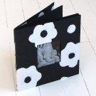 Pictures album scrap book 4x6/5x5 handmade tree free black flower paper craft mom present