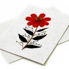 3 greeting Moms gifts flower cards 5x7 handmade tree free paper pressed petal thank you birthday