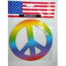 Peace  sign  car  magnet  ribbon  ship included
