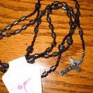 New Hematite black Rosary beads