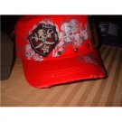 Red  Pirate  hat  cadet  vintage  look new