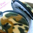Camouflage Ear muffs Camo tan around head adult size