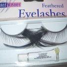 Feathered Eyelashes sexy Long side black lashes w/glue shipped free