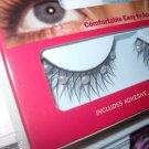 Milano Eyelashes tiny pearls false lashes w/glue free ship