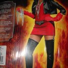 Vampire Slayer Deluxe Woman Costume size medium 10-14 Arisen Goth leather look