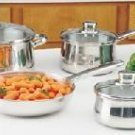 Chefs Secret 7pc Stainless Steel Cookware Set