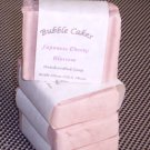Handcrafted Japanese Cherry Blossom Scented Bar Soap  with Organic Shea Butter Essential Oils