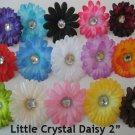 "Gerber Daisy Flower Heads 2"" Assorted Color Lot Gerbera"