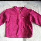 OLD NAVY Girls PINK Fall FLEECE Sweatshirt Logo 2t 3 3T