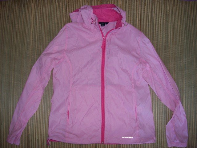 LANDS END Womens Ladies Spring PINK Jacket Coat S Small