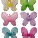 Girls Dress Up Fairy WINGS Butterfly Costume Party New