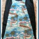 HILO HATTIE Womens Hawaiian Dress GORGEOUS S 4 6