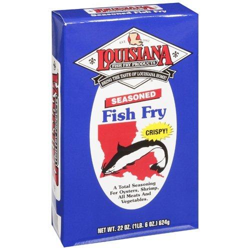 Louisiana fish fry seasoned fish fry for Cliffords fish fry