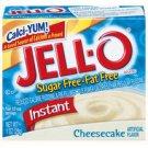 Jell-o Jello Instant Cheesecake Sugar Free & Fat Free Pudding & Pie Filling