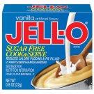 Jell-o Jello Sugar Free Vanilla Cook & Serve Pudding & Pie Filling
