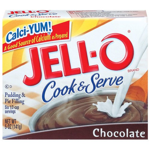 Jell-o Jello Chocolate Cook & Serve Pudding & Pie Filling, 5 Oz
