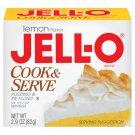 Jell-o Jello Lemon Cook & Serve Pudding & Pie Filling, 2.9 Oz