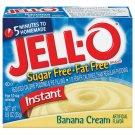 Jell-o Jello Instant Banana Cream Sugar Free & Fat Free Pudding & Pie Filling, .9 Oz