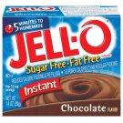 Jell-o Jello Instant Chocolate Sugar Free & Fat Free Pudding & Pie Filling, 1.4 Oz