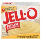 Jell-o Jello Instant French Vanilla Pudding & Pie Filling, 3.4 Oz