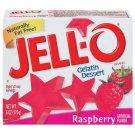 Jell-o Jello Raspberry Gelatin Dessert, 6 Oz