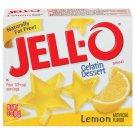 Jell-o Jello Lemon Gelatin Dessert, 3 Oz