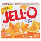 Jell-o Jello Orange Gelatin Dessert, 3 Oz