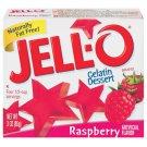 Jell-o Jello Raspberry Gelatin Dessert, 3 Oz