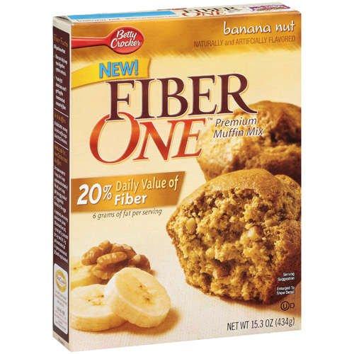 Fiber One Premium Muffin Banana Nut Mix, 15.3 Oz