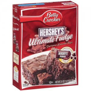 Betty Crocker Brownie Mix W Hershey S Ultimate Fudge 21 Oz