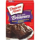 Duncan Hines Family Style Dark Chocolate Fudge Brownies, 19.80 oz