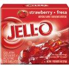 Jell-o Jello Strawberry Gelatin Dessert, 6 Oz