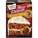 Duncan Hines Moist Deluxe Cake Mix Carrot Cake, 20.45 oz
