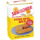 Sunflour Enriched Degerminated Self Rising Yellow Corn Meal Mix, 5 Lb