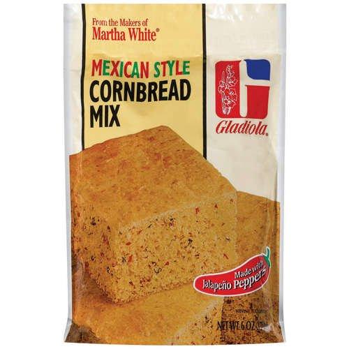 Martha White Gladiola Mexican Style Cornbread Mix, 6 Oz