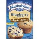 Martha White Blueberry Made w/Whole Grains Muffin Mix, 7 Oz