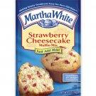 Martha White Strawberry Cheesecake Muffin Mix, 7 Oz