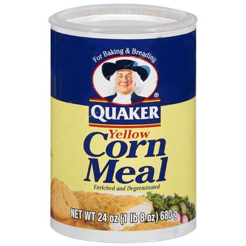 Quaker Yellow Enriched & Degerminated Corn Meal, 24 oz