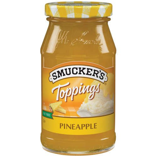 Smuckers Pineapple Fat Free Toppings, 12 Oz