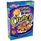 Kellogg's Raisin Bran Crunch Cereal, 18.2 Oz