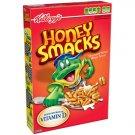 Kellogg's Honey Smacks Cereal, 15.3 Oz