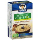 Quaker Maple & Brown Sugar Weight Control Instant 1.58 Oz Packets Oatmeal, 8 ct